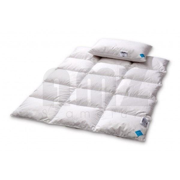 AMZ komplet dziecięcy kołderka + poduszka BASIC PLUS puch 70%