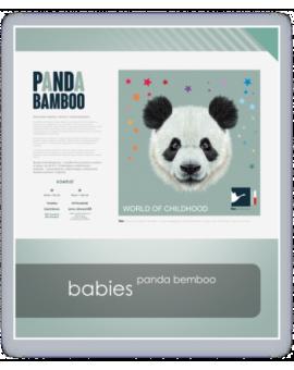 AMZ komplet dziecięcy PANDA BAMBOO