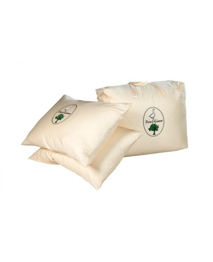 TREE & GOOSE poduszka 3-komorowa puch gęsi 100%